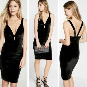 Velvet Little Black Dress